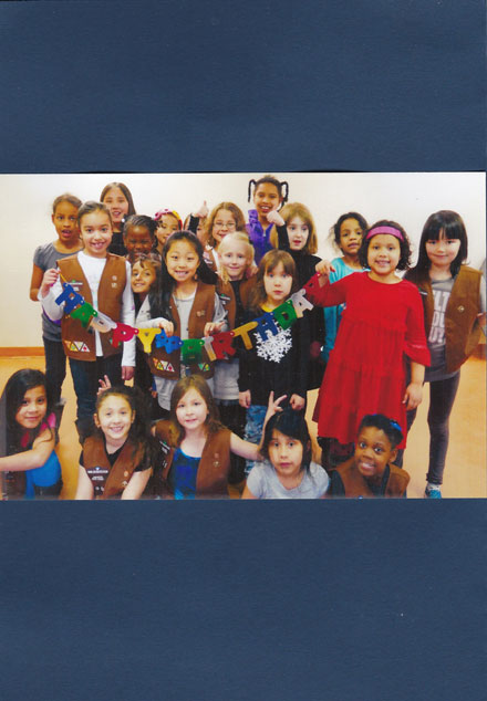 A Birthday Card Made by Volunteers from Roosevelt Island Girl Scouts Troop 3001 for a Homebound Patient – Page 2